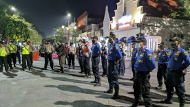 Tekan Penyebaran Covid-19, Personil Gabungan Pemerintah Kota Yogyakarta Terapkan PPKM